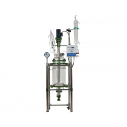 Jacketed Glass Reactor 10L